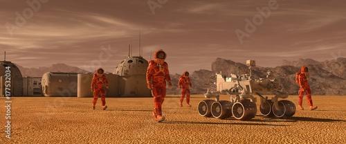 Fotografija Mars colony