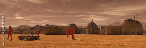 Photographie Mars colony
