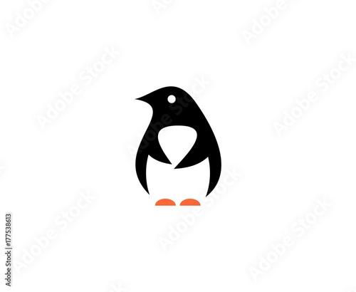 Stampa su Tela Penguin logo