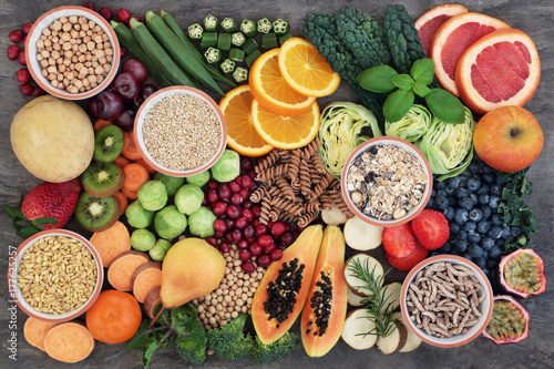 Health Food with High Fiber Content