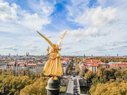 Fototapeta premium Anioł Pokoju Monachium