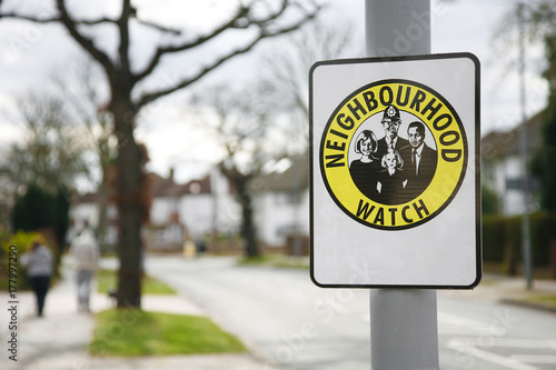 Neighborhood watch sign #177997290