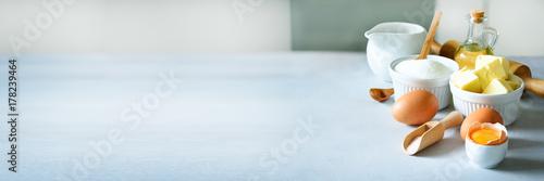 Fotografia Baking background