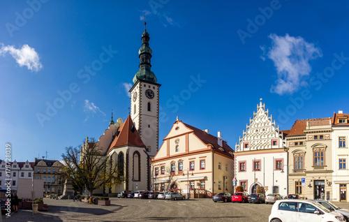 Vászonkép Tabor, Czech Republic.