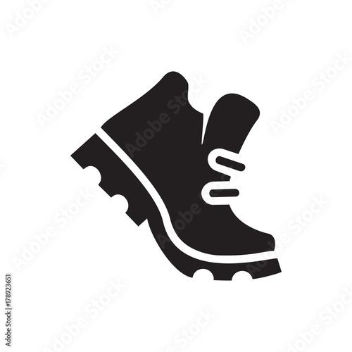 Fotografiet boot icon illustration