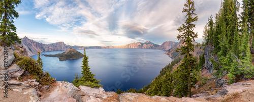Photographie Crater Lake National Park panorama, Oregon, USA