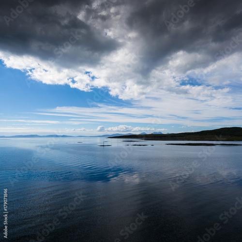Obraz na plátne Crossing to Islay