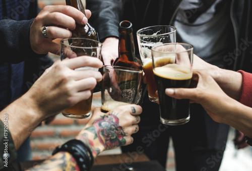 Fototapeta Craft Beer Booze Brew Alcohol Celebrate Refreshment