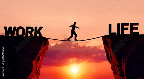 Slika na platnu Work life balance