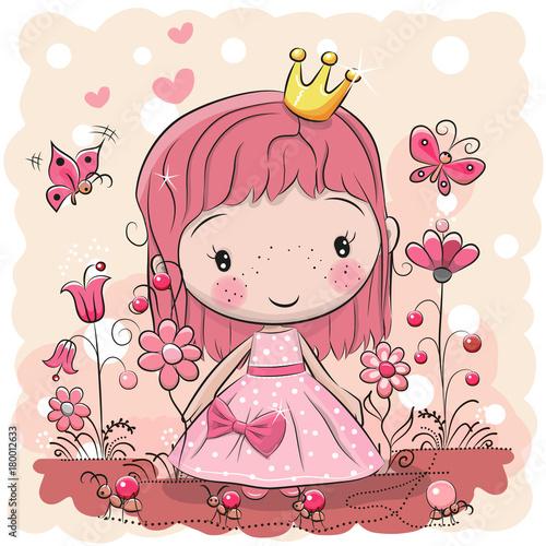 Cute Cartoon fairy tale Princess