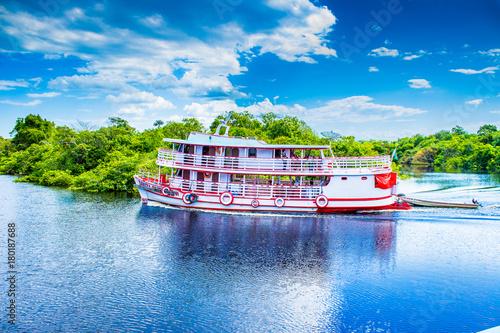 Fotografie, Obraz Passeio de Barco pelos Rios do Amazonas