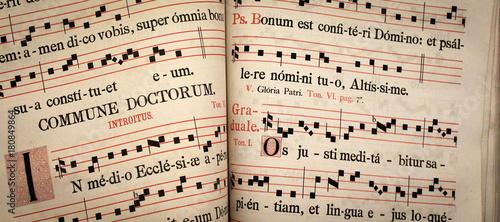Foto Livre de partitions de chants liturgiques