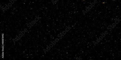Star field panorama, environment HDRI map (medium density). Equirectangular projection, spherical panorama. 3d illustration