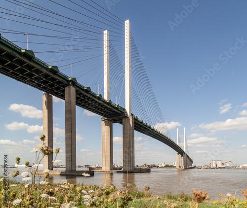 Obraz na płótnie QEII Bridge over the River Thames