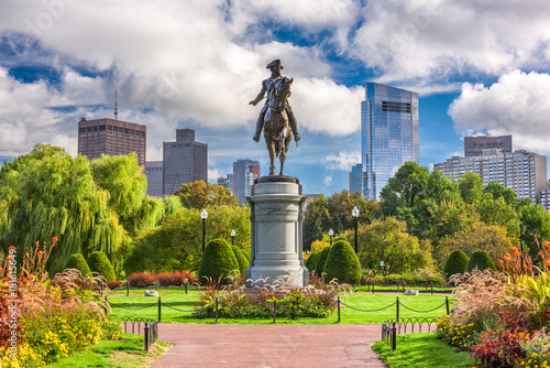 Fotomural Boston Public Garden