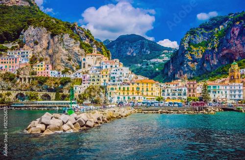 Canvas Print Wonderful Italy