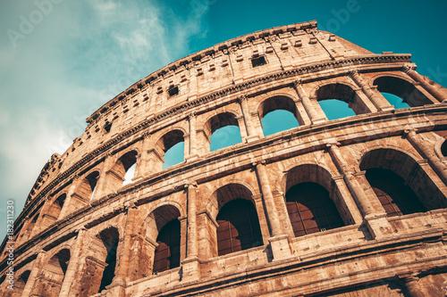 Vászonkép The Roman Colosseum