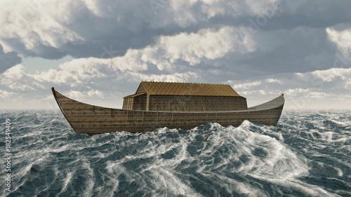 Photo Arche Noah in stürmischer See