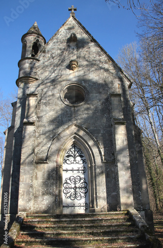 Chapelle funéraire. Fototapete
