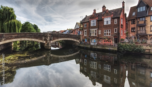 Fotografia Fye bridge in Norwich