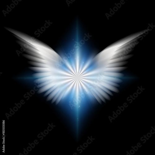 Slika na platnu Angel's star