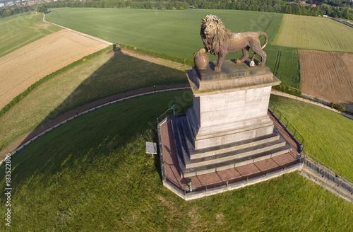 Waterloo Lion butte  champ bataille panorama centre visiteur tourisme commemorat Fototapeta