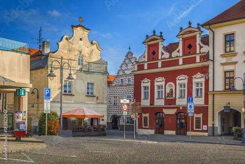 Main square of Tabor, Czech Republic Tapéta, Fotótapéta