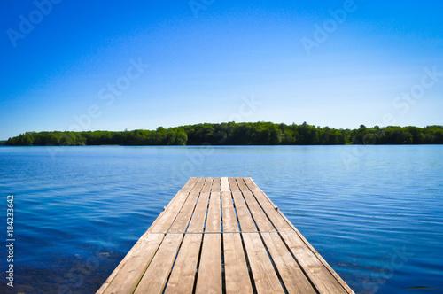 Carta da parati Lake Dock
