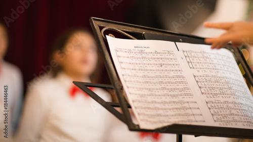 Tableau sur Toile Chorale