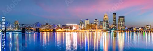 View of  Skyline downtown Louisville Fototapete