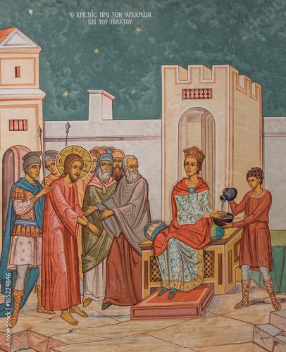 Jesus before Pilate Fototapeta