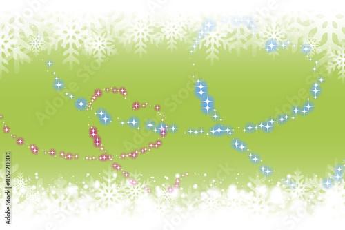 背景素材壁紙 雪の結晶 キラキラ 光 ハートマーク ブライダル 愛情 恋 幸福 ハッピー 仲良し 冬 Stock Vektorgrafik Adobe Stock