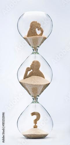 Fotografia Time is evolution concept