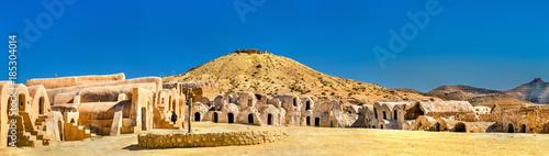 Fotografie, Obraz Ksar Hallouf, a fortified village in the Medenine Governorate, Southern Tunisia