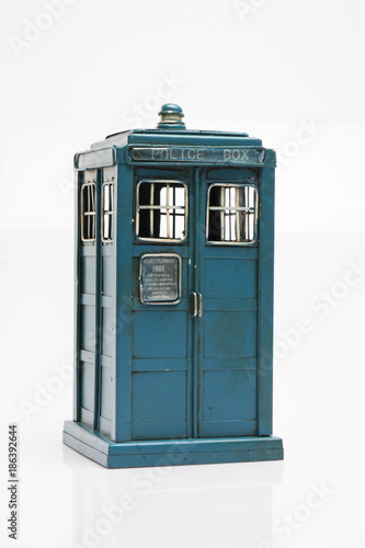 Photo Doctor Who's Space Ship; Tardis