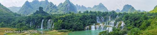 Fotografie, Obraz Landscape Waterfall
