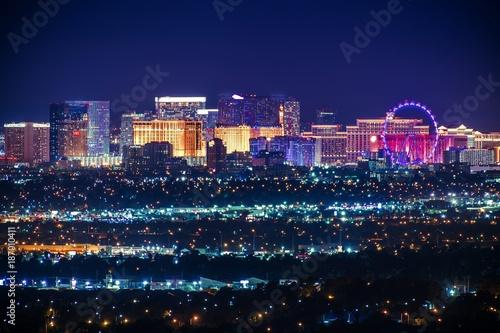 Canvas Print Nevada USA City of Las Vegas