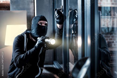 Obraz na plátně Burglary