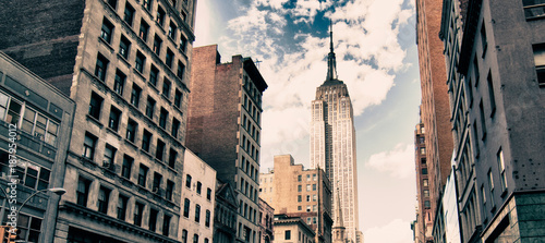 Canvas Print Architecture and Colors of New York City, U.S.A.