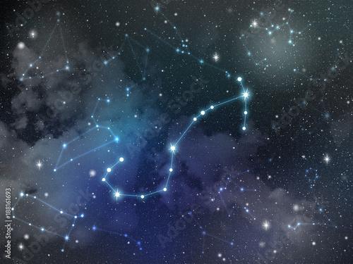 Scorpio constellation star Zodiac