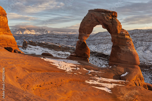 Arches National Park, Delicate Arch Fototapeta
