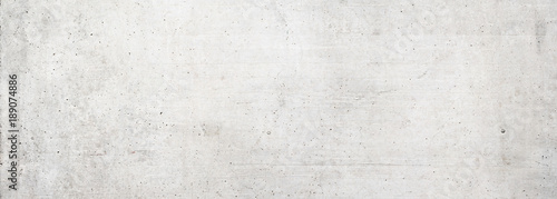 Fotografia Texture of old white concrete wall for background