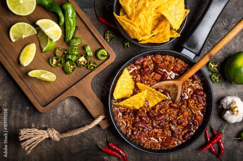 фотография Chili con carne