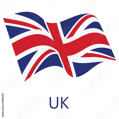 Photo UK flag vector