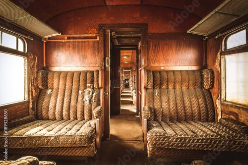 Orient Express - Lost Place Fototapeta