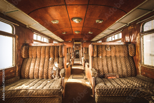 Canvas Print Orient Express - Lost Place