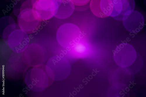 Bokeh purple lights