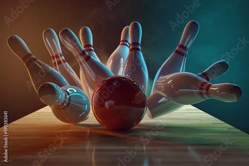 Cuadros en Lienzo Bowling