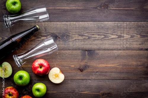 Canvas Print Apple cider