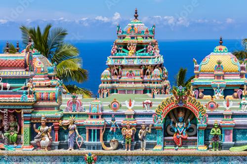 Wallpaper Mural temple indien tamoul, île de la Réunion